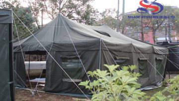 Avoid disaster, use a canvas tent