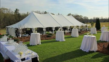 Tips For Choosing The Perfect Wedding Tent