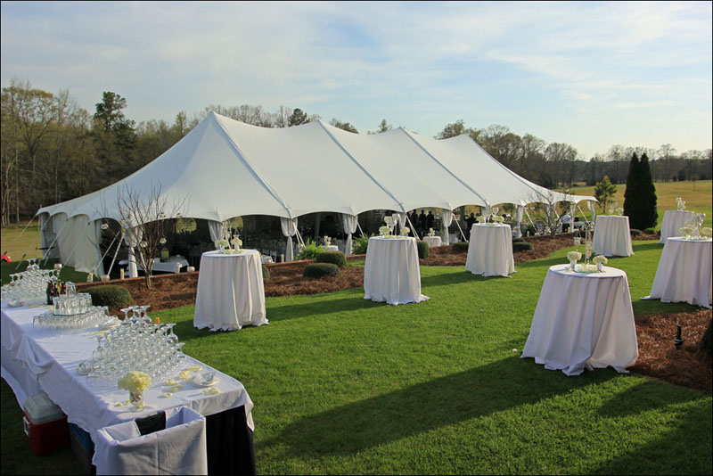 Tips For Choosing The Perfect Wedding Tent Shade Systems