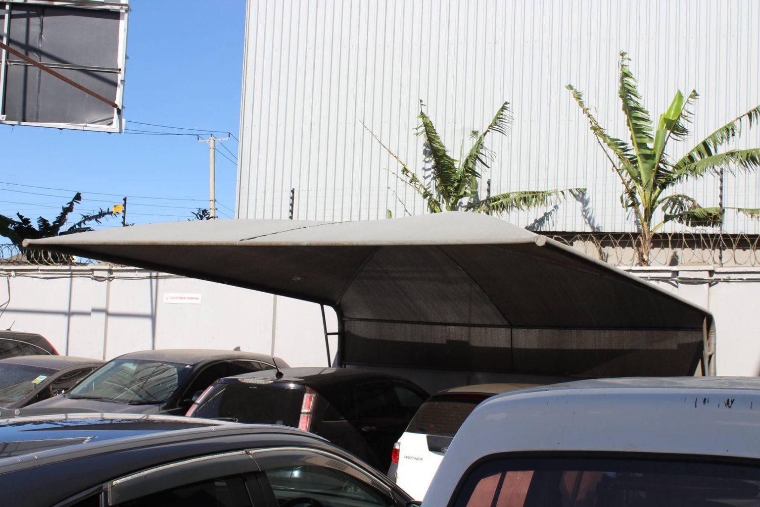 Dome Design Car Parking Shade