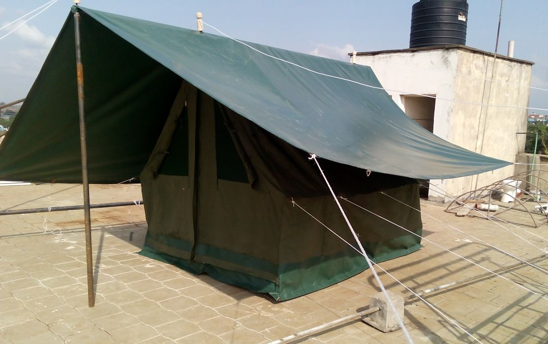 military tent