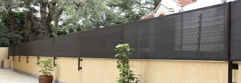 BACK YARD PRIVACY WALL SCREEN