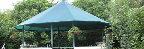 SHADE NET GAZEBO