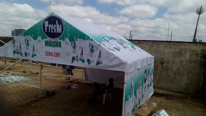 BRANDED GABLE TENT (FRESHA 11)