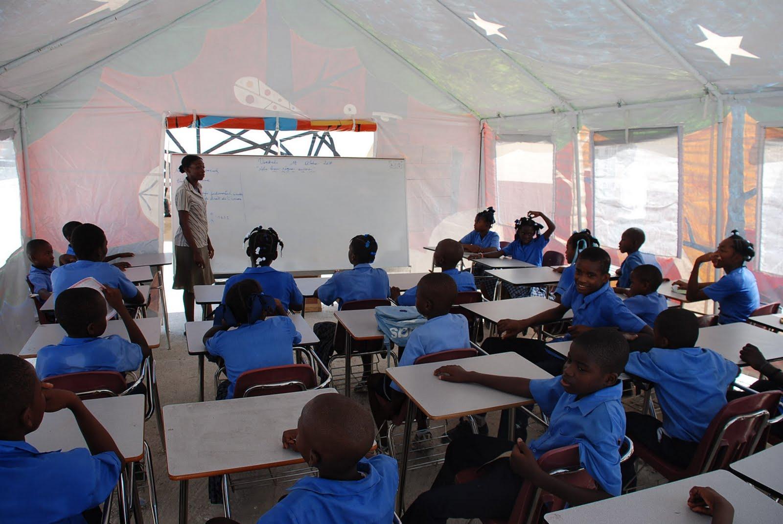 classroom tent